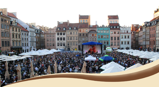 Festival Jazz at the Old Town Square Warsaw